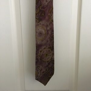 Beautiful Purple Paisley Canali tie